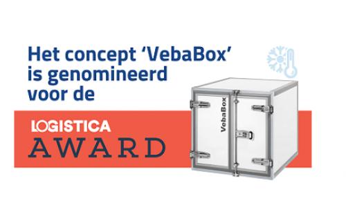 VebaBox Cool Solutions is genomineerd voor de Logistica Award